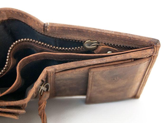 Kožená peněženka The wild force s tygrem 15e2851bc2